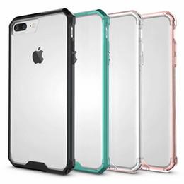 2019 защитный футляр Простой и популярный Apple мобильный телефон case для iPhoneXS Max XR X акриловые прозрачный drop защитная крышка для iPhone6 7 8plus ТПУ + PC case дешево защитный футляр