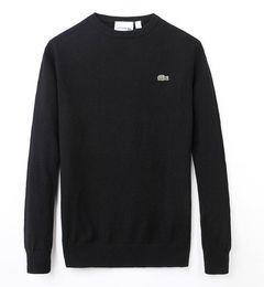 Шерстяная толстовка для мужчин онлайн-Шерстяной свитер с капюшоном для мужчин Свитера с о-образным вырезом Вязаный теплый пуловер мужского пола sueter Pull Мужской свитер Pol Kanye West Hoodie.