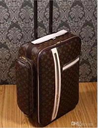 88888803 2020 klasik yüksek kaliteli 20 İnç Kadınlar dayanıklı Rolling Bagaj Spinner marka Erkekler iş Seyahat Bavul 88888805 nereden
