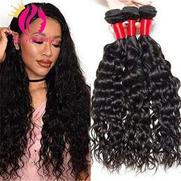 Роза бразильские волосы глубокой волны онлайн-Slove Бразильские Волосы Виргинские Волосы Роза Волос Продукты 3 пучка 7А Бразильские Глубокая Волна Вьющиеся Влажные и Волнистые Девственные Бразильские Волосы