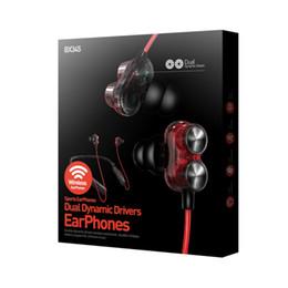 Deutschland Wasserdichtes In-Ear-Headset mit drahtlosem Bluetooth und schweißhemmendem Mega-Bass-Nackenbügel-Sportkopfhörer supplier bluetooth neckband earphones Versorgung