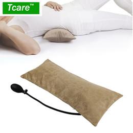 vente en gros oreiller gonflable d'air portatif multifonctionnel pour la douleur au bas du dos, coussin de soutien lombaire orthopédique, voyage, taille, genou ? partir de fabricateur