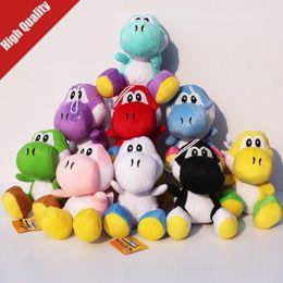Fabricants de poupées en Ligne-Yoshi Peluche Jouets Super Mario Maker Peluche Poupée Jouets 18CM Peluches De Yoshi Meilleurs Cadeaux Pour Enfants Jouets