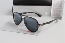 lentes de aviador de mulher Desconto 2019 Bandas Aviator Sunglasses Vintage RAY Bin Homens Mulheres Marca Cat Eye vidros de sol BAIN Espelho Óculos Lentes de sol PROIBIÇÕES com caso