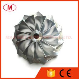 turbo-turbolader-kompressor Rabatt GT2871 452.546-0.005 53.11 / 70.98mm 11 + 0 Klingen Forward Racing Turbo Billet Verdichterrad / Aluminium 2618 / Fräsrad für 452.546 bis 0.005 / Trim56
