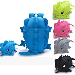8c01323f01de Designer Women Backpacks Dinosaur monster backpack Cartoon Animal Shoulder  School Bag For Teenagers Girls Boys Chameleon Lizard cartoon chameleon for  sale