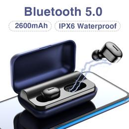 2019 auriculares t1 T1 TWS V5.0 Mini Auriculares Bluetooth Auriculares Estéreo 3D Auriculares inalámbricos Manos Libres Deportivas con Micrófono Caja de Carga auriculares t1 baratos