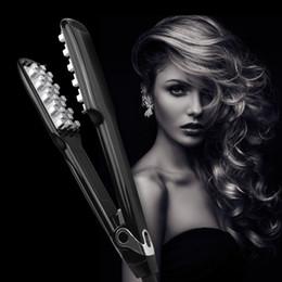 Canada Volumisant Fer À Cheveux Électrique Rapide En Céramique Lisseur Fer Plat Peigne Portable Céramique Fers À Défriser Pinceau Fer Volumateur pour Offre