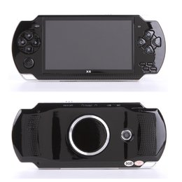 Console de jogos portátil de 4,3 polegadas 8gb on-line-4.3 Polegada Tela MP4 Player Game Console 8G de Memória Tela de LCD Portátil Video Game Player Coolbabygames