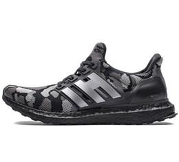 2019 оптовые UltraBoos Ultra 4.0 кроссовки зеленый черный тройной черный интернет-магазины обувь Apes Navy Multicolor 3A 07 от