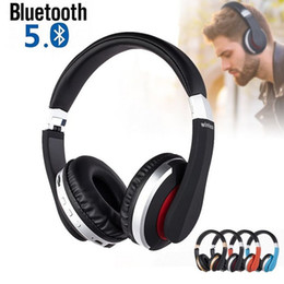 MH7 Wireless Headphones Bluetooth 5.0 Headset Foldable Stereo Gaming Earphones With Microphone Support TF Card For All Phone