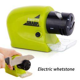 affilatrice utensile elettrica Sconti Coltello elettrico professionale per affilare i motorizzata per affilare i coltelli motorizzato ad alta -Speed affilatura Rotating attrezzo della famiglia