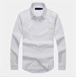 camisas formais cor de rosa dos homens Desconto Oxfords Casual Designer Men Shirt camisa Famoso Tendência Brands camisetas Top Quality Bordados Qualidade Negócios T-shirts manga comprida