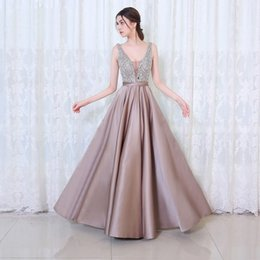 6 couleurs de robes de demoiselle d'honneur modeste pas cher mariage soirée colorée Backless robes longues Designer pour dames ? partir de fabricateur