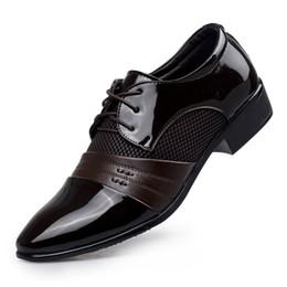 Canada Habillé-Chaussures-Chaussures-de-course-de-luxe-Homme-S-Oxfords / Chaussures de sport Chaussures de ville en cuir Noir / Marron cheap size 12 flats Offre