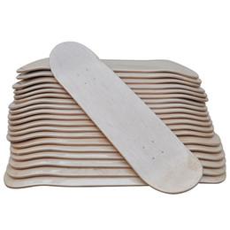 pièces de plate-forme Promotion 2018 nouvelle arrivée bricolage planche à roulettes 31 * 8 pouces vierge planche à roulettes Skate Boarddouble concave Kick Decks Deskorolka partie SC157