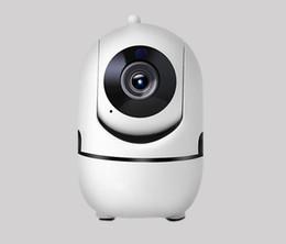 2020 visión de la pista Nuevo 720P 1080P Cámara IP de seguimiento automático WiFi Baby Monitor Cámara de seguridad para el hogar Cámara IP IR Visión nocturna Cámara de vigilancia CCTV inalámbrica visión de la pista baratos