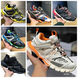 designer tracks for man Coupons - Release 3.0 Tess S Paris track men gomma maille black For women Luxury Triple S Sneaker Casual Shoes Hot Authentic Designer Shoe