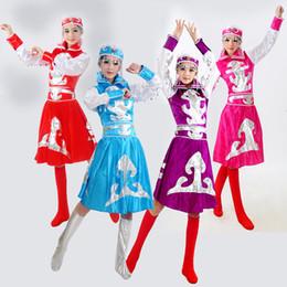2019 roter königinkragen Neue erwachsene Minderheits-Kostüme Frauen mongolische Kleid-Kleid für Bühnenproduktionen Cosplay chinesischen Volkstanz-Kostüm-89