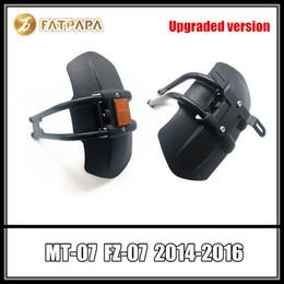Verbesserte Version Motorrad Kennzeichenhalter Nachtlicht Kotflügel hinten für Yamaha MT 07 MT 07 FZ 07 FZ 07 2014 2016