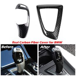Carbon-Faser-Schaltknauf und Panel-Abdeckung für BMW 1 2 3 4 Serie F20 F21 F22 F23 F30 F34 F35 F36 F10 F11 F07 F18 F25 F26 F15 F16 F01 I8 von Fabrikanten