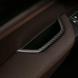 scatola di immagazzinaggio dell'automobile Sconti Fashion Design Car Interior Door Bracciolo Maniglia Storage Box Frame Cover Trim Veicolo Car Styling Sticker Per BMW X3 X4 F25 F26 2011-2016