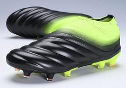 2019 para hombre Copa 19+ FG Entrenadores Zapatillas de deporte de entrenamiento de fútbol, botas de vestir calientes, las mejores tiendas de compras en línea en venta, zapatos de vestir para hombre desde fabricantes