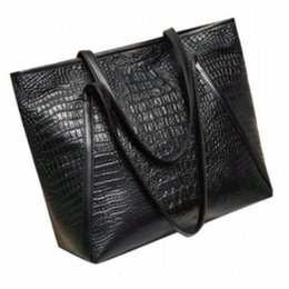 Canada 2019 nouveau sac de style européen et américain pour femmes en cuir de crocodile sac de mode décontractée simple sac à main de dames Offre