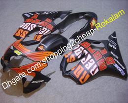 kits de corpo honda fit Desconto Para Honda Montagem CBR600 F4 1999 2000 CBR 600 600F4 99 00 Sportbike Body work Kit de Carenagem Avançada para Motos Decalque (Moldagem por Injeção)
