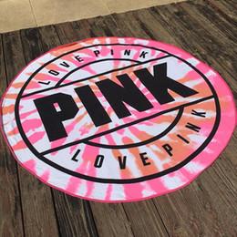rabatt rosa yogamatten 2019 rosa yogamatten gro�handel im angebotliebe rosa handt�cher mikrofaser runden strandtuch dicke frauen badetuch bikini vertuschen gedruckt tischdecke picknickdecke yogamatte 160 cm yw864 2 rabatt