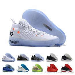 kd basketball sneakers Coupons - New Releases Kevin Durant 12s Men Basketball Shoes KD 12 Mens Anniversary University Camouflage Trainers Sports Sneakers Trainers