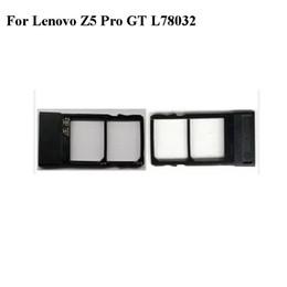2019 tarjeta sim lenovo Para Lenovo Z5 Pro GT L78032 6.39 pulgadas Nuevo Original Soporte para tarjeta Sim Bandeja Ranura para tarjeta para Lenovo Z 5 Pro GT L 78032 Soporte para Sim tarjeta sim lenovo baratos