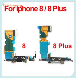 alto-falantes de áudio Desconto Para iphone 8 8 plus novo porto de carregamento usb carregador dock connector com microfone antena cabo flex