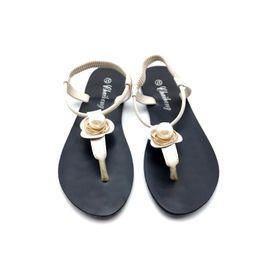 c2e8492bb25 Discount flat bottom platforms sandal - 2019 womens andals white button  slipper shoes hot fashion shoes
