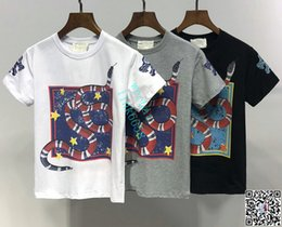 Kinder Designer Kleidung Mädchen Baby Boy Mode Print Schlange Logo Kleidung Designer Herren Designer T-Shirt von Fabrikanten