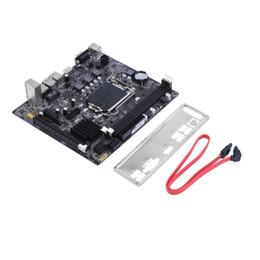 carte mère b75 Promotion B75 Desktop Motherboard Ordinateur Mainboard DDR3 LGA 1155 pour Intel B75 Desktop Motherborad Durable Accessoires informatiques