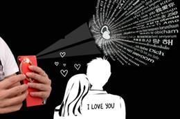 bracciali bieber Sconti Europa Ti amo bracciale in oro rosa puro argento 925 parlato con bracciale in 100 lingue