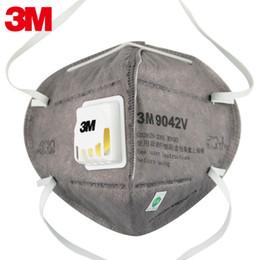 Canada Le charbon actif 3M masque le masque industriel anti-poussière de soupape de respiration de masque anti-fumée de gaz d'échappement anti-fumée 9041V / 9042V cheap exhaust gas Offre