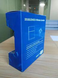 Juego de vibración online-Controlador inalámbrico Bluetooth para PS4 Vibration Joystick Gamepad Game Controller para Sony Play Station con caja al por menor Dropshipping