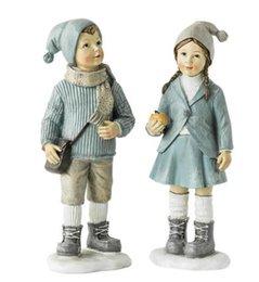 Estilo nórdico lindos personajes de la infancia adornos de Navidad para niños sala de escritorio dormitorio decoraciones desde fabricantes