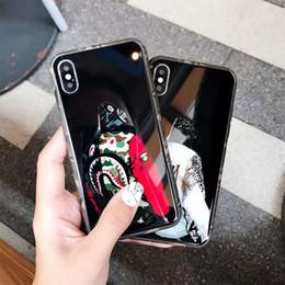 2019 teléfonos celulares héroe Cajas del teléfono del diseñador de lujo iphone x max para el iphone 8 X XS las cajas del teléfono celular una figura del héroe cubierta del teléfono atrás shiping libre teléfonos celulares héroe baratos