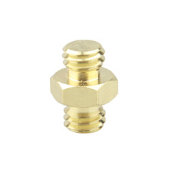 """uxcell 3//8/"""" Female to 5//8 Male Threaded Screw Adapter for Mic Stand Aluminium 2pcs"""