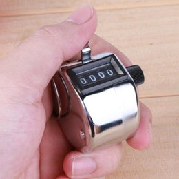medidor de luz sonora Desconto Mini mecânica Digital Mão Tally Contador 4 Digit Número Hand Held Tally Contador Formação Clicker manual Contagem Golf