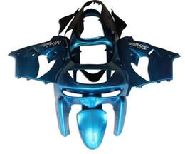 Пользовательские zx9r обтекатели онлайн-Новый комплект обтекателей ABS для Ninja Kawasaki ZX9R 1998 1999 обтекатель ZX-9R 98 ZX 9R 99 Free Custom небесно-голубой