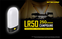 Deutschland NiteCore LR50 Wiederaufladbare Camping Laterne Energien-Bank 9x Hohe CRI LEDs 250 Lumen-Taschenlampe Versorgung