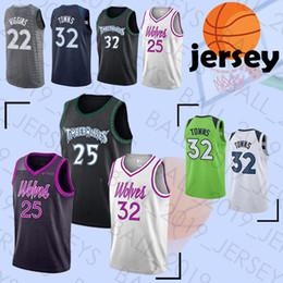 Minnesota jerseys Timberwolves 25 Rose 32 Towns 22 Wiggins HOT SALE 2019  new men basketball sportswear jerseys wiggins jersey for sale 86e39964f