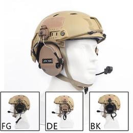 Тактический шлем страйкбол Softair наушники Sordin наушники активным шумоподавлением гарнитура с Z-Tactical для ТАСТ крепление на шлем Z034 от