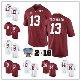 Forrest gump on-line-NCAA Alabama Crimson Tide Forrest Gump Football Jerseys Tony Brown Joshua Jacobs Da Shawn Mão Da'Ron Payne Nick Saban Campeonato Jersey