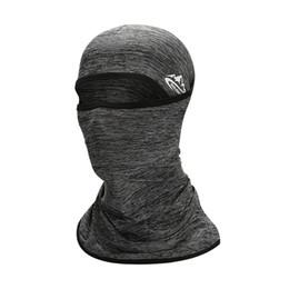 maschera di protezione solare per il viso Sconti Outdoor Sport antipolvere traspirante Full Face Mask Bicicletta Passamontagna multifunzionale Ciclismo Headwear protezione solare traspirante