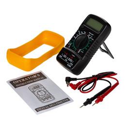 medidor de medição de tensão Desconto Portátil Digital Multímetro Backlight AC / DC Amperímetro Voltímetro Ohm Tester Medidor XL830L Handheld LCD Multimetro Voltagem Atual